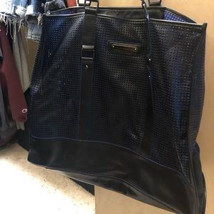 Juicy Couture Perforated Leather XL Tote